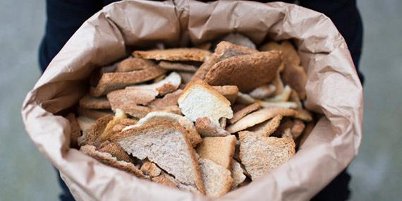 ضایعات نان