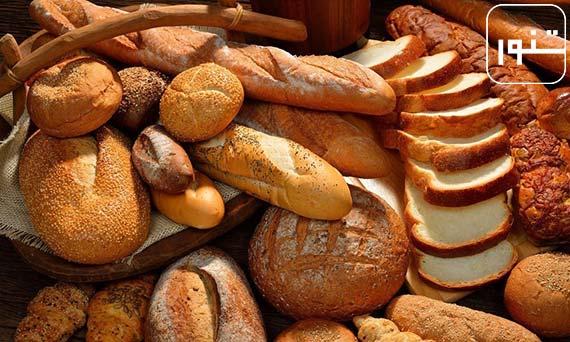 مصرف نان با فيبر بالا و زیاد